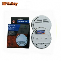 CE approved  Fire alarm wireless smoke detector 433mhz work standalone