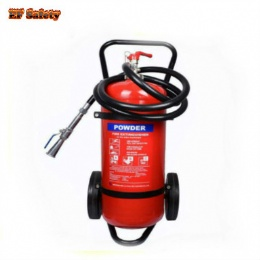 abc 40 trolley 50kg fire extinguisher wheeled